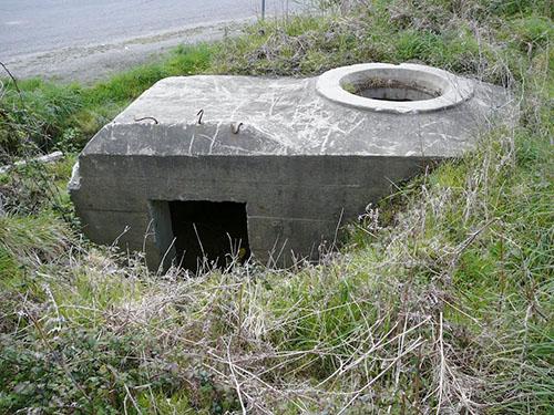 Atlantikwall - Ringstand 58c (B 48 Fort de Keranroux)