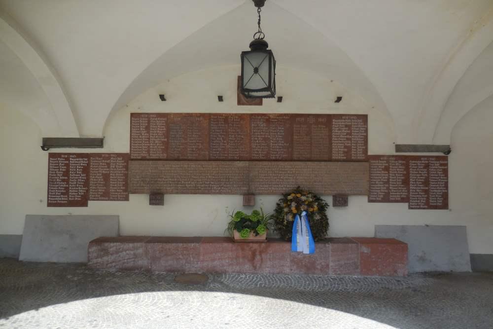 Oorlogsmonument Berchtesgaden