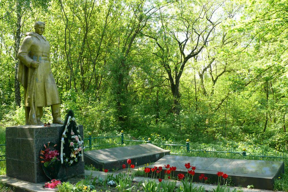 Mass Grave Soviet Soldiers Romashky
