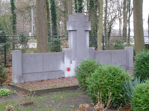 Graven French Refugees Roman Catholic Cemetery Soesterberg