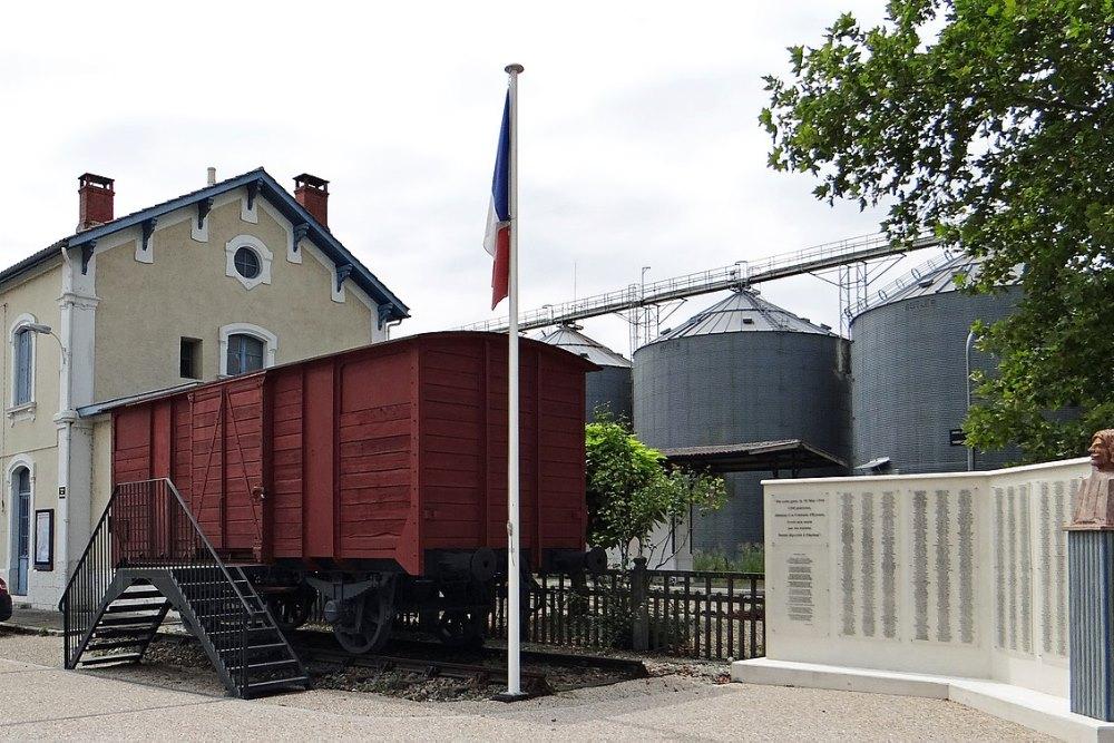 Deportation Memorial Penne-d'Agenais