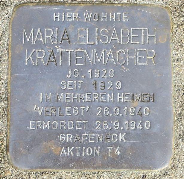 Stumbling Stone Große Dollenstraße 5