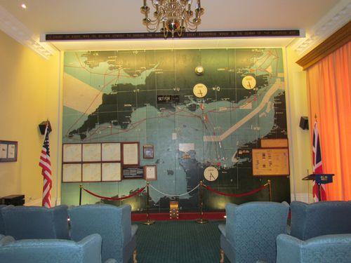 Southwick park map room decor