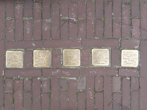 Stolpersteine Boschstraat 39