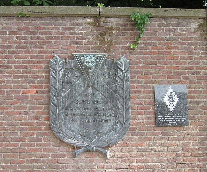 Memorial Killed Resistance Fighters Kortrijk