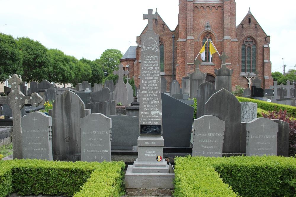War Memorial Snaaskerke