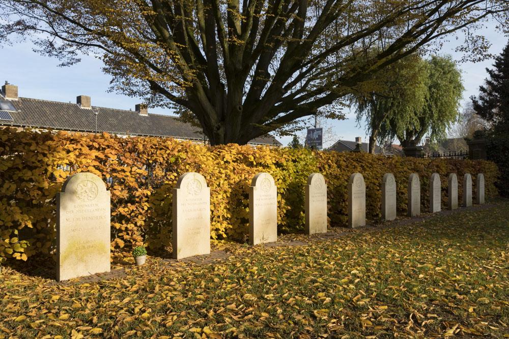 Nederlandse Oorlogsgraven RK begraafplaats Elst
