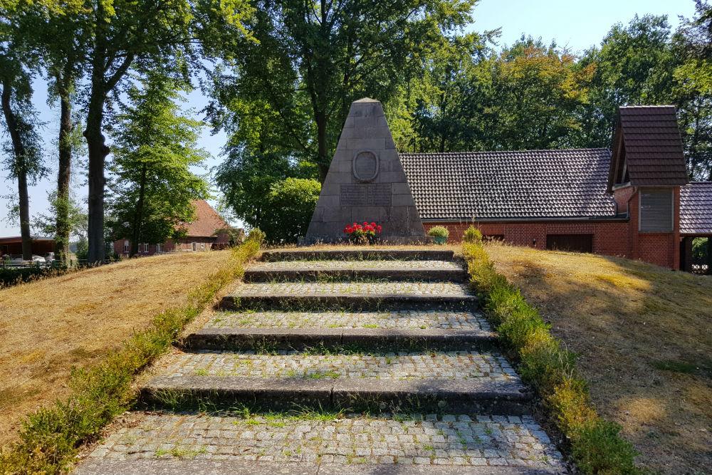 War memorial Rohrsen Cemetery