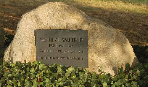 Remembrance Stone Paul and Walter-Gerhard Schulze-Waltrup