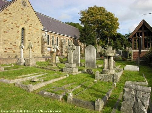 Commonwealth War Graves St Mark Churchyard