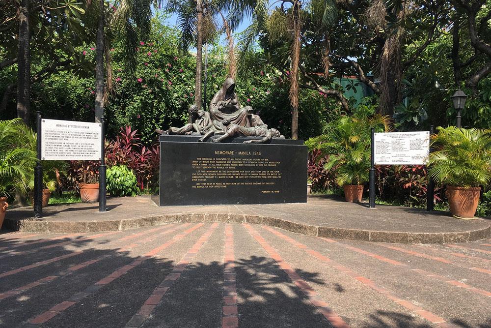 Memorial Civilian Casualties Manila 'Memorare' Intramuros