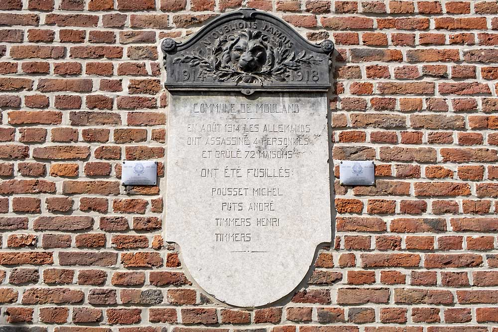 Plaque Executed Moelingen