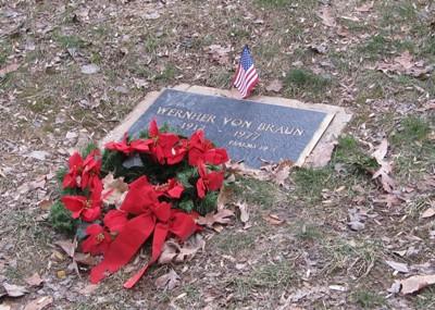 Grave Wernher von Braun