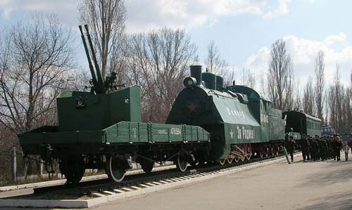 Victory Park Saratov - Armoured Train