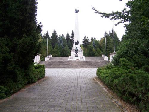 Soviet War Cemetery Svidnik