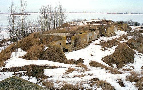 Kronstadt Fortress - Southern Fort No. 1