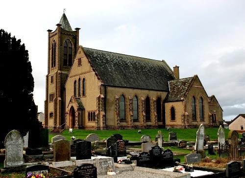 Oorlogsgraven van het Gemenebest Dunboe First Presbyterian Churchyard