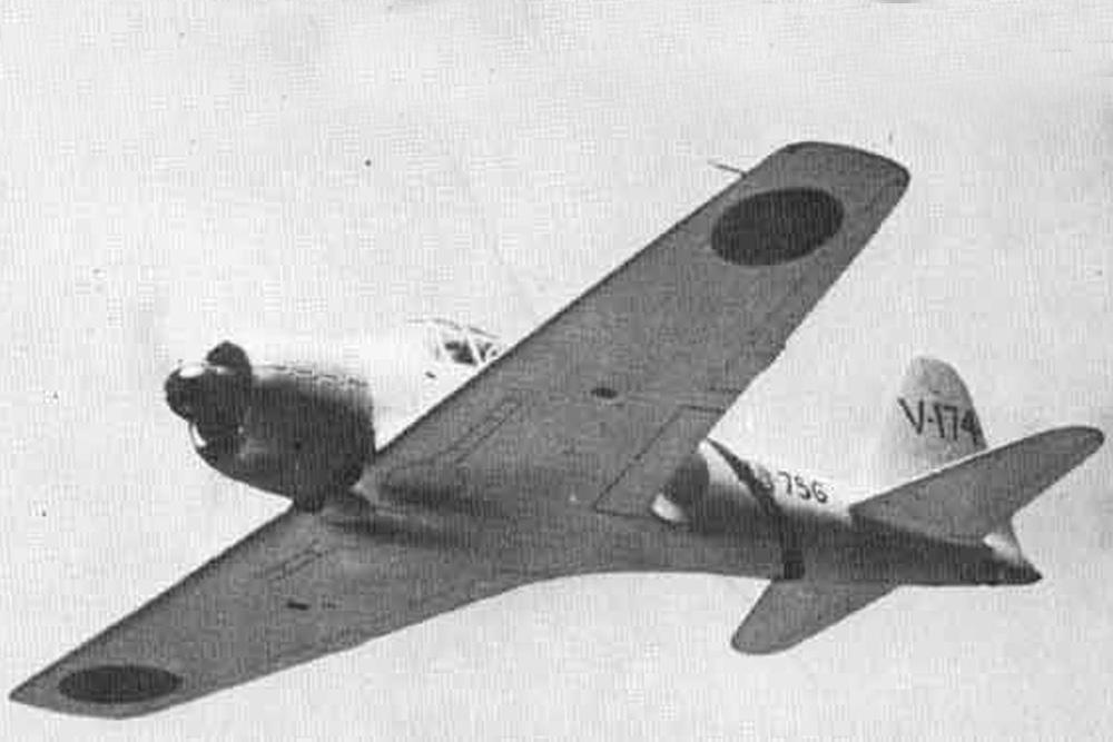 Crashlocatie Mitsubishi A6M3 Zero