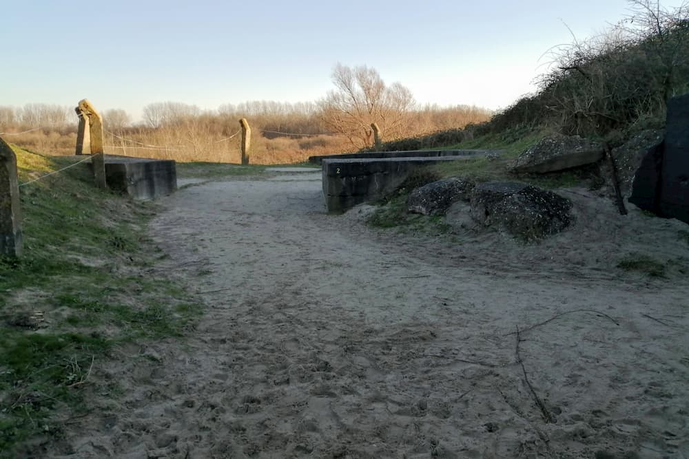 Bedding Bunkerroute no. 2 De Punt Ouddorp