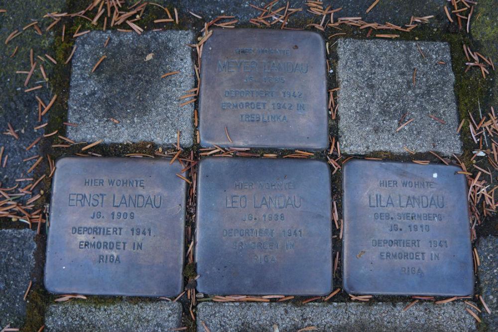 Stumbling Stones Friesenstraße 9