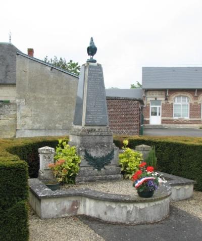War Memorial Margival