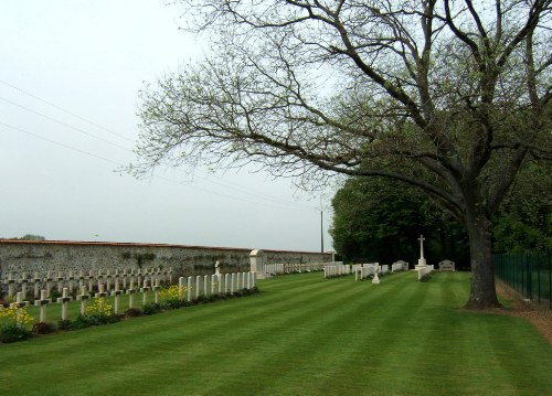 Franco-British War Cemetery Perreuse Château