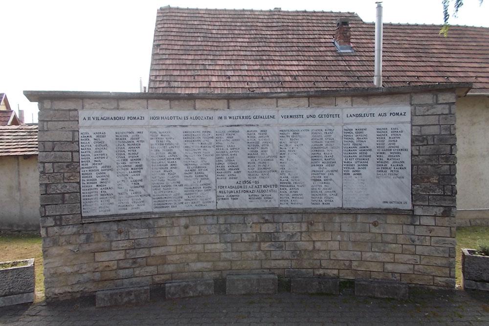 Pomáz War Memorial
