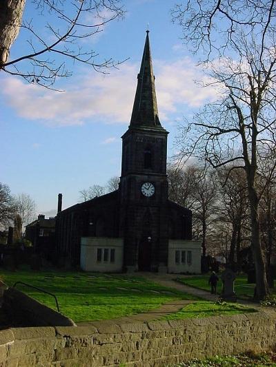 Commonwealth War Graves Wadsley Churchyard