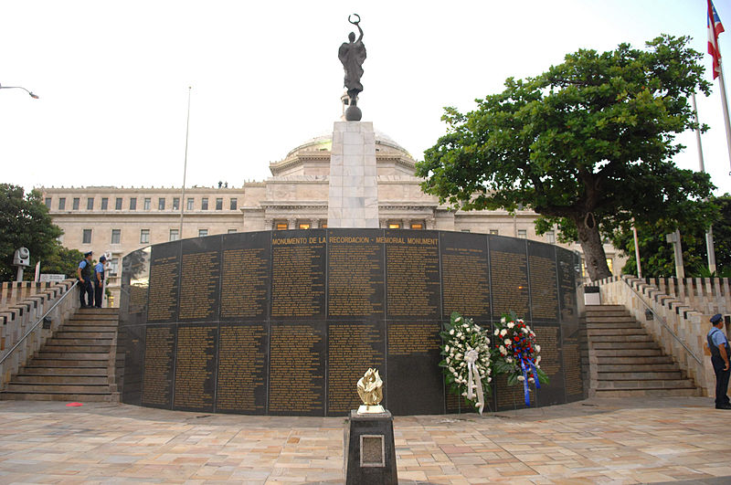Monument of Remembrance Puerto Rico