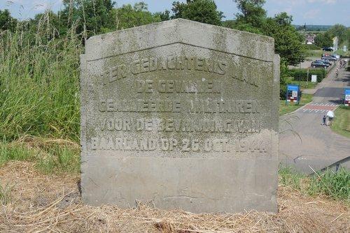 Monument gevallen bevrijders Baarland