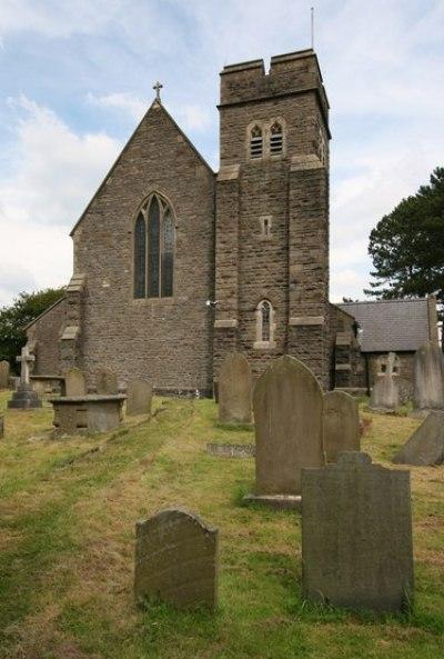 Commonwealth War Grave St. Fagan Churchyard