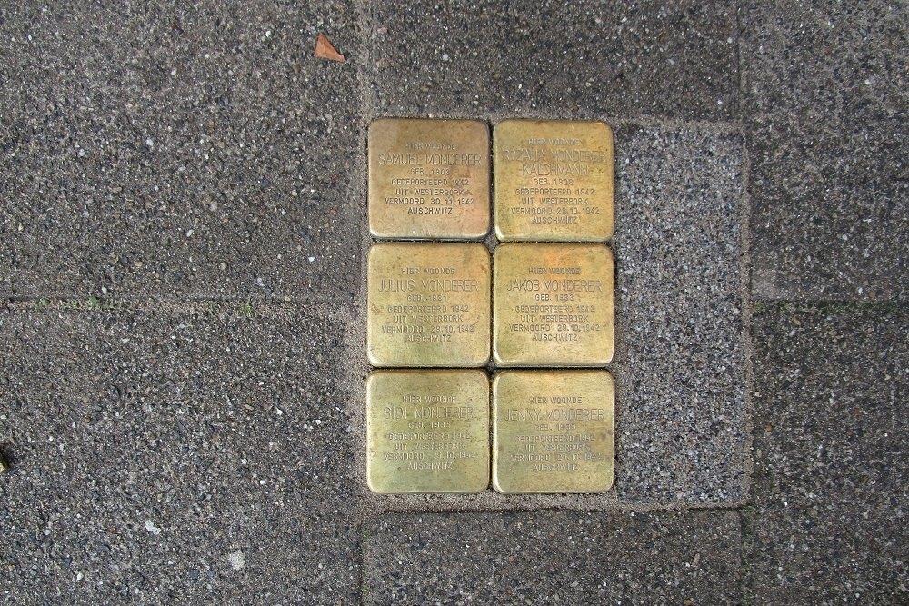 Herdenkingsstenen Walenburgerweg 93A