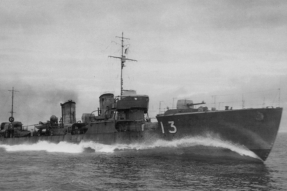 Ship Wreck IJN Hayate