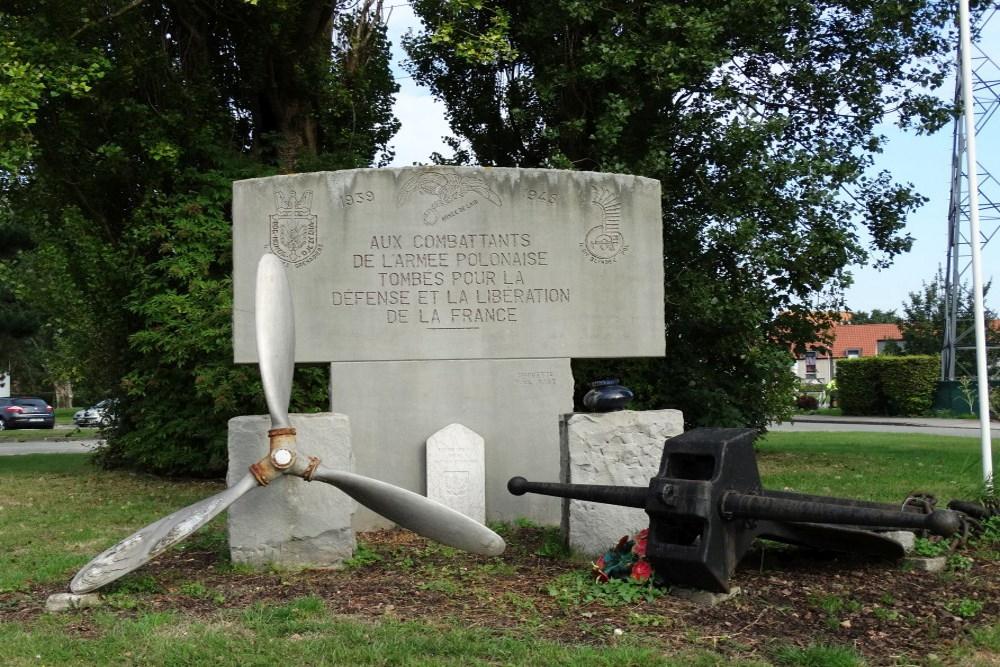 Polish War Memorial Dunkerque
