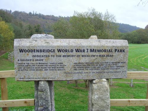 Woodenbridge World War I Memorial Park