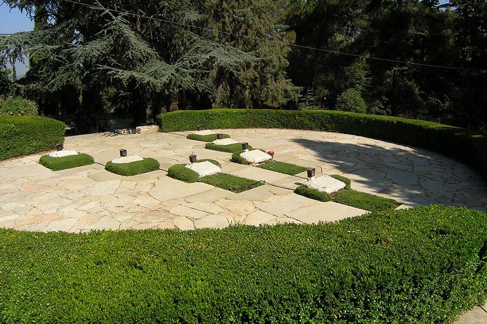 Commonwealth War Graves Mount Hertzel (Jewish Parachutists of Mandate Palestine)