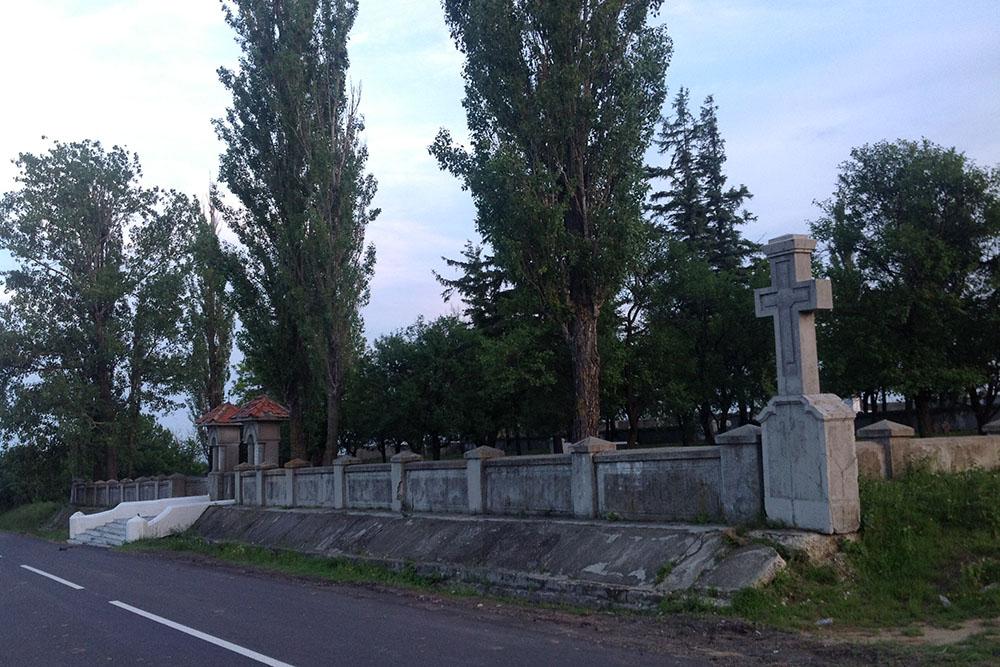 Duits-Roemeense Oorlogsbegraafplaats Bordesti