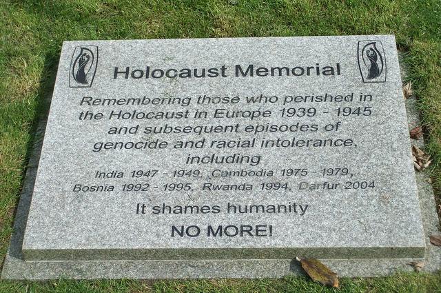 Holocaust Memorial Peterborough