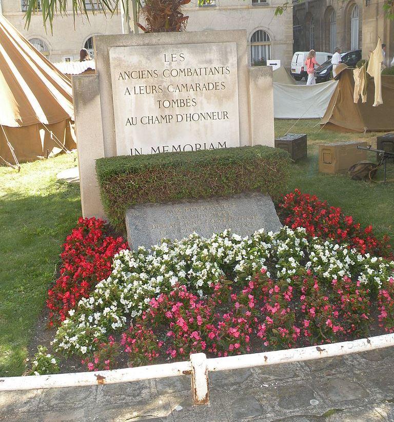 War Memorial Ministère des Anciens Combattants
