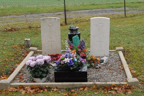 Oorlogsgraven van het Gemenebest Courouvre