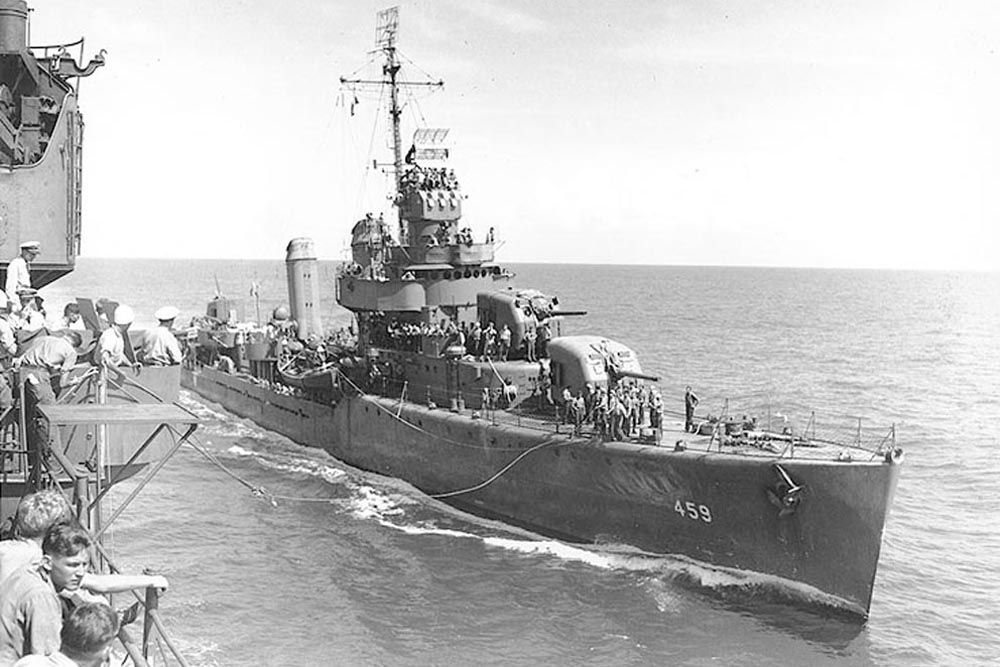 Shipwreck USS Laffey (DD-459)