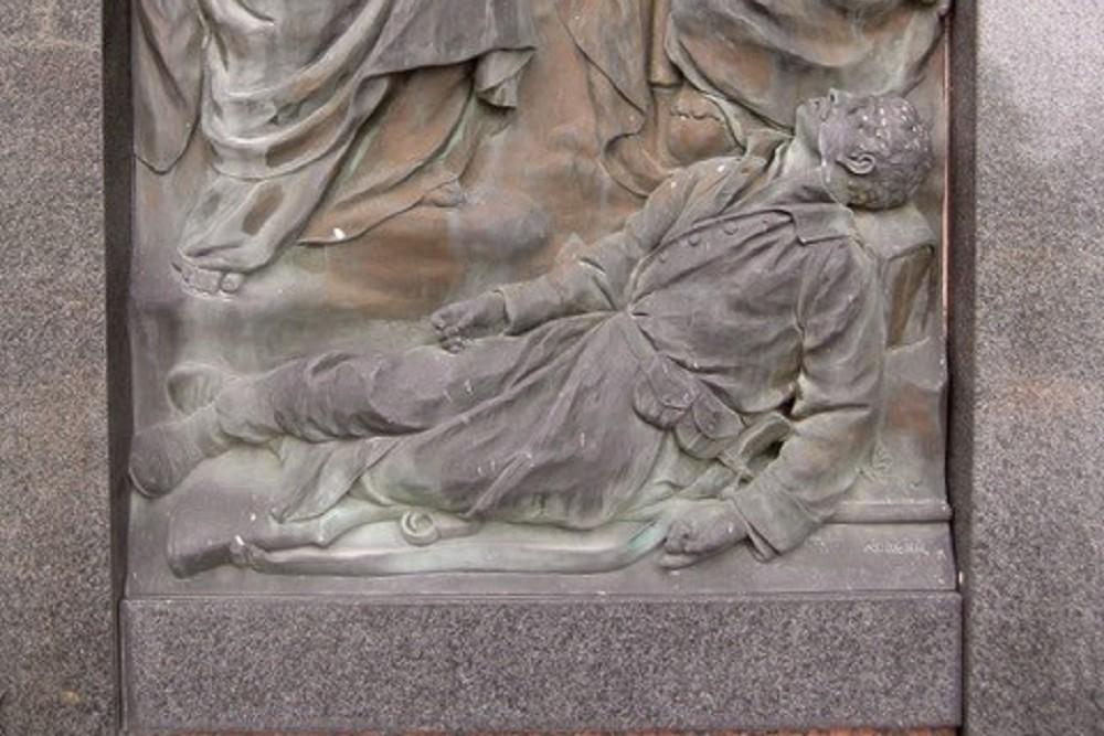 Monument Voor De Gevallenen In WO I En WO II Hohenweiler