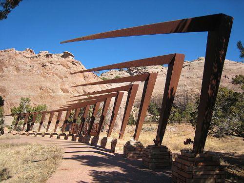 World War II Memorial Window Rock