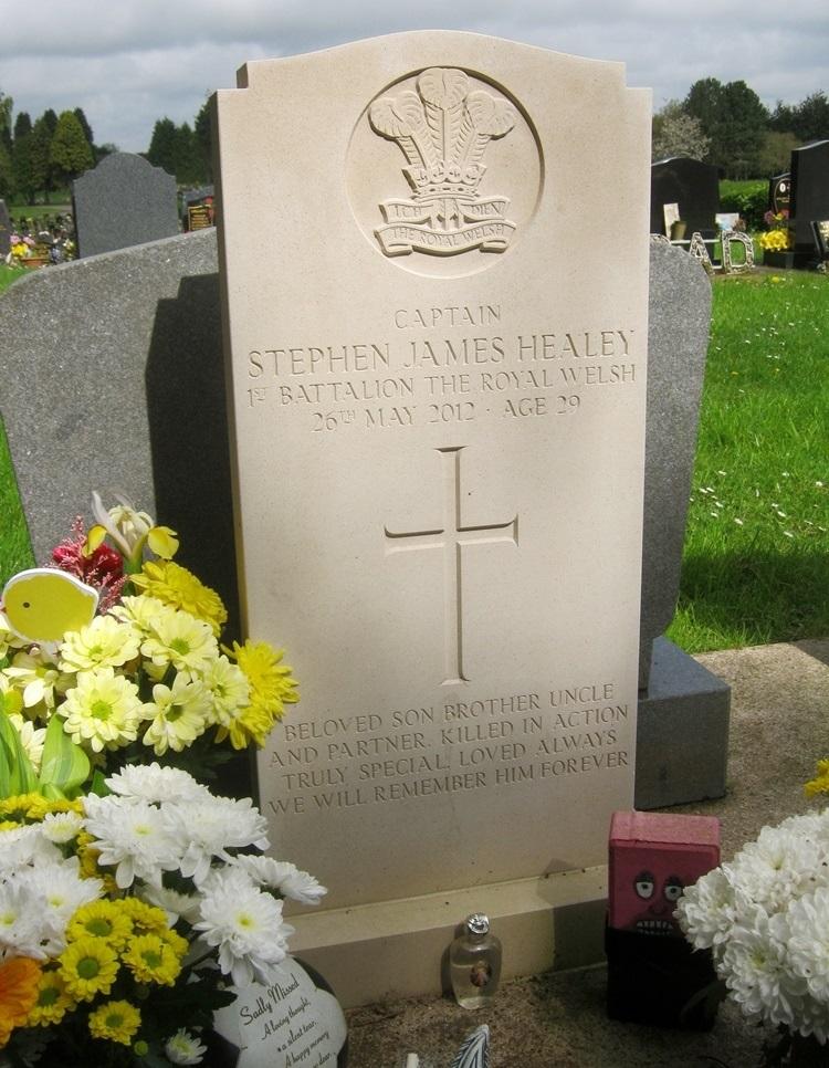 Brits Oorlogsgraf Western Cemetery