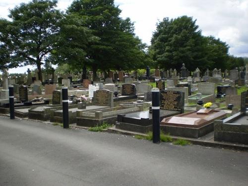 Oorlogsgraven van het Gemenebest St Samlet Churchyard