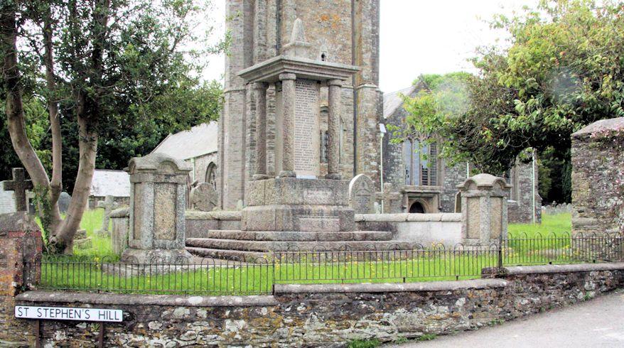 Oorlogsmonument St. Stephens by Saltash Church