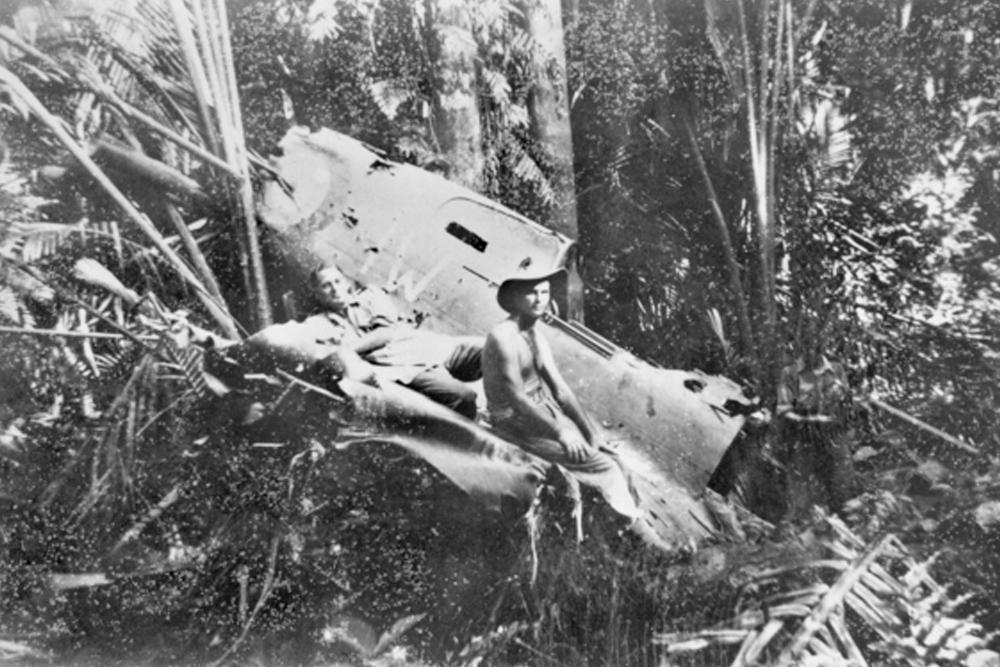Crashlocatie & Restant P-40E-1-CU Kittyhawk # A29-9