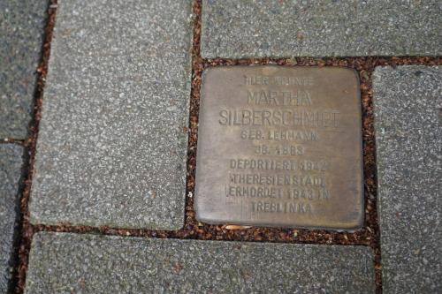 Stumbling Stone Adenauerallee 39