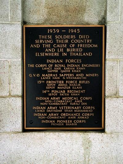 Kanchanaburi Memorial
