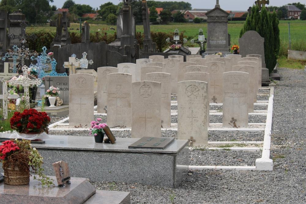 Oorlogsgraven van het Gemenebest Taintignies